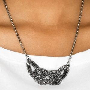 Nautically Naples Necklace (Black)